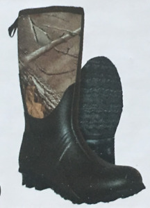 Youth Hunting Boots Itasca Everglades 100% Waterproof 4MM Neoprene Camo Size 3