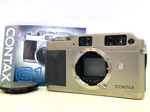 "[MINT ""READ""] Contax G1 Green Label Rangefinder Film Camera From JAPAN #690"