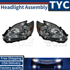 TYC 2X Left Right Headlight Assembly Replacement Kit For 2012-2015 Toyota Prius