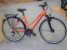 "RALEIGH ROAD CLASSIC 24 RH50cm 24-Gang 28"" Trekkingrad Damen matt orange"
