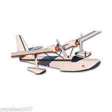 "Model Airplane Plans (RC): DELILAH 38"" Semi-Scale Flying Boat - Twin .020 Motors"