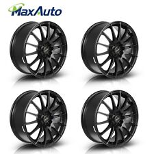 17X7 45 Offset 5x100/5x114.3 Matt Black Wheels Rims 17 Inch (Set of 4)