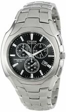 NEW Citizen Men's AT0880-50E Stainless Steel Eco-Drive Watch MSRP $315