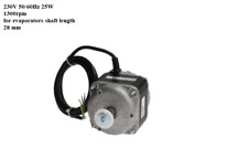 ELCO 25 Watt N 25-45/1327 MULTIFIT 25w FAN MOTOR FRIDGE&FREEZER ITALIAN,3340123