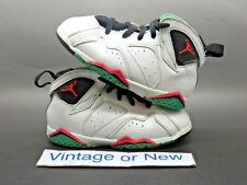 Girls  Nike Air Jordan VII 7 Verde Retro 30th GT Toddler 2015 sz 10C faeb33f411ac