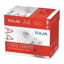 Pacco 5 Risme Carta per fotocopie A4 per Fax, Fotocopiatrici, 80 g/m², Bianco