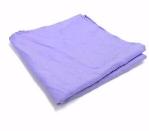 $115 Countess Mara Men`S Solid Purple Handkerchief Dress Classic Pocket Square