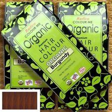 Radico Colour Me Organic Burgundy Pflanzenhaarfarbe Burgund-Rot 100g Bio Vegan