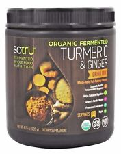 SoTru Organic Fermented TURMERIC & GINGER - 30 Serves SUPERFOOD HEALTH DRINK MIX