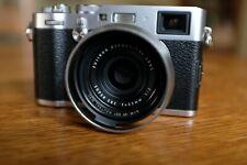 Fujifilm X100F Silver, 24MP APS-C digital camera