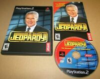 Jeopardy for Playstation 2 PS2 Complete Fast Shipping