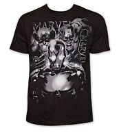 Marvel Crowded In Iron Man Captain America Comics Adult T Shirt