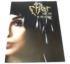 Cher 1999 Do You Believe? Tour Concert Program Book Photos Pictures Singer