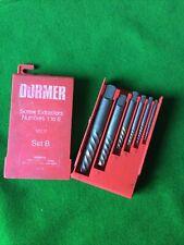 Dormer Screw Extractors 1-6 Set B.