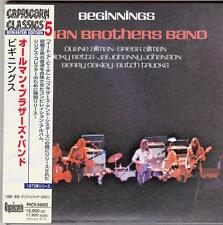 Allman Brothers - Beginnings (CD)  Japan Mini LP remastered !!!