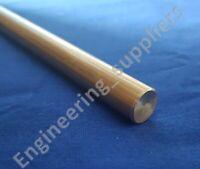 """1/2"""" (12.7mm) Diameter Brass Round Rod Bar stock  50, 100, 150, 300 & 600mm Long"""