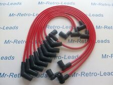 RED 8MM PERFORMANCE IGNITION LEADS WILL FIT. TVR CHIMAERA V8 GEN 2 COIL PACK HT.