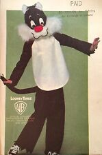 NEW 1970'S 'BUTTERICK' LOONEY TUNES SYLVESTER CAT KIDS SEWING PATTERN 6349