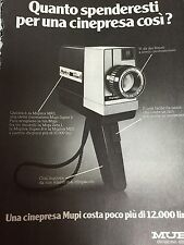 Ritaglio Clipping Pubblicita Advertising 1974 Cinepresa Mupi _3