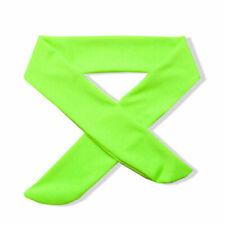 Sport Yoga Headband Stretch Head Tie Green Wicking Headscarf Women Men