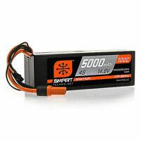 Spektrum 14.8V 5000mAh 4S 100C Smart LiPo Hardcase Battery IC5 SPMX50004S100H5