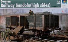Trumpeter 1/35 German Railway Gondola high sided # 01517