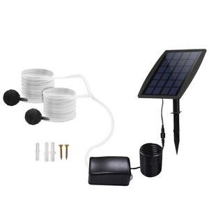 Oxygénateur solaire de pompe à eau d'aérateur de pierre à air d'étang