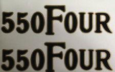 HONDA CB550 CB550F1 CB550F2 SIDE PANEL DECALS