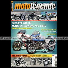 MOTO LEGENDE N°237 DUCATI 900 SS MARTIN HONDA CBK 750 COUPE ESSO JEUNES TIGRES