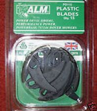 15 LAWN MOWER BLADES FOR POWER DEVIL POWERBASE HOVER