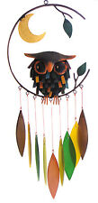 WIND CHIMES - WISE OLD OWL WIND CHIME - WINDCHIME