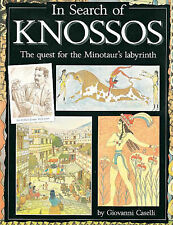 IN SEARCH OF KNOSSOS, GIOVANNI CASELLI, Used; Good Book