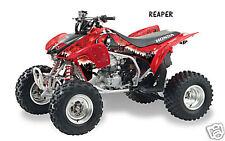 ATV Graphics Kit Quad Decal Sticker Wrap For Honda TRX450R TRX450ER REAPER RED