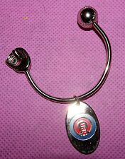 MLB Chicago Cubs Horseshoe Shaped Key Ring!!! 2016 World Series Champions!