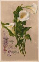 Postcard Hearty Easter Greeting John Winsch 1911