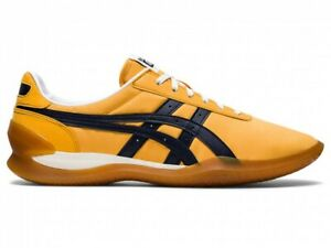 Asics Onitsuka Tiger OHBORI EX 1183A806 TIGER YELLOW/MID NIGHT With Shoe Bag