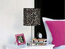 Rock Your Room Animal Print Metal Table Lamp, Cheetah