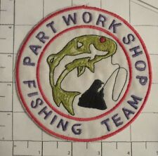 Fishing Team Part Work Shop Patch