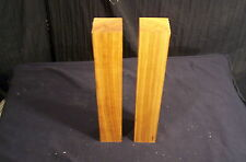 "2 Piece Dry Cherry Spindle Blanks 1 3/4 x 1 3/4 x 12"" Lathe Turning Craft Lumber"