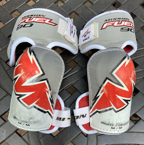 Hockey Elbow Pads Mission Fuel 90 Size M