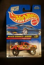 Hot Wheels Mixed Signals Series Nissan Truck (Red)