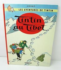 Tintin au Tibet (French) 1960 Les Adventures de Tintin Hardcover 5A