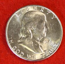 1948-D 50C FRANKLIN HALF DOLLAR BU BEAUTIFUL COIN CHECK OUT STORE FH321
