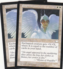 2 x Empyrial Armor enchantment from Weatherlight (MTG)