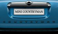Genuine MINI Piano Black Countryman Boot Badge Emblem Plaque F60 51142465243