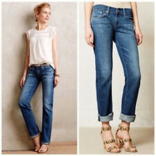 Womens AG Adriana Goldshmied Tomboy Relaxed Straight Jeans