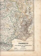 France from the start of the tenth century to 1180 Normandy Paris Gaul map