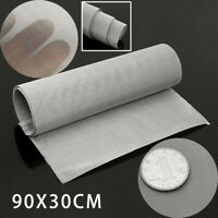 """100Micron Mesh Stainless Steel Woven Wire Cloth Screen Filter Sheet 12'' X 35"""""""