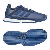 adidas Sole Match Bounce Men's Tennis Shoes Navy Racket Racquet NWT EE9562
