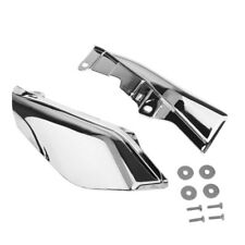 Chrome Heat Shield Air Deflector Mid-Frame Motorcycle for Harley Davidson 09-16